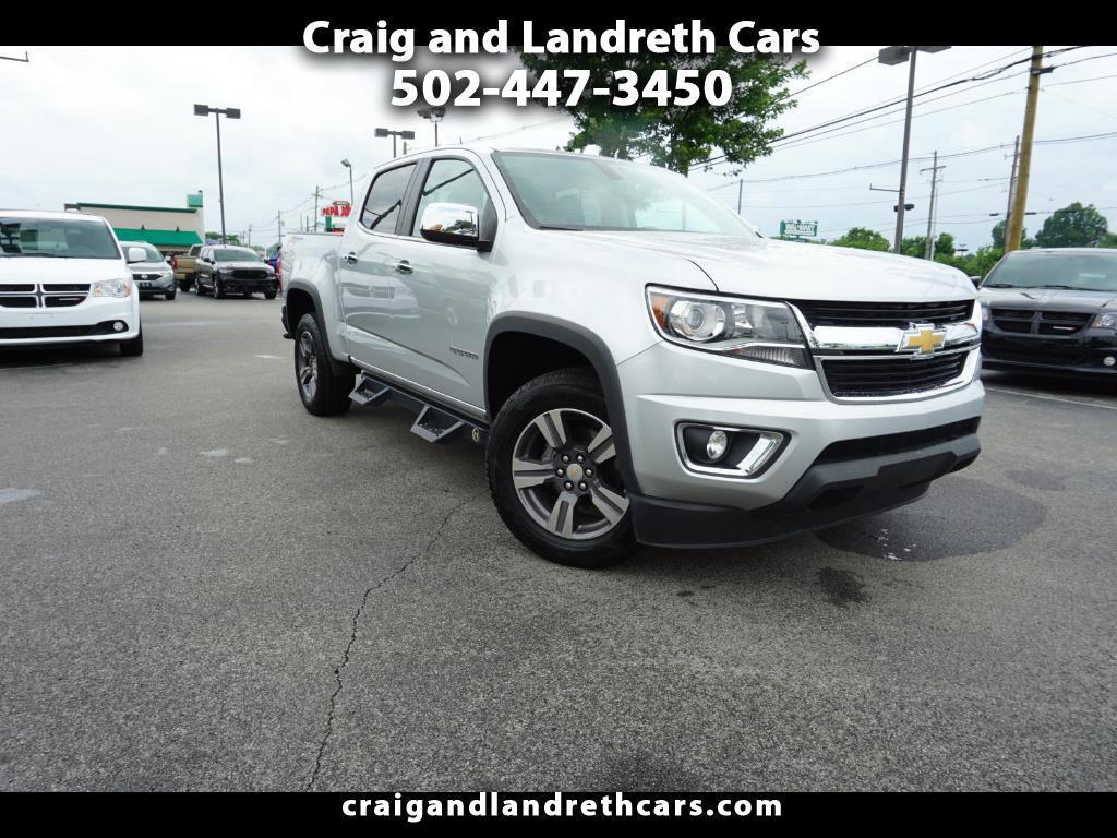 """2016 Chevrolet Colorado Crew Cab 126.0"""" WB 4WD LT w/2LT"""