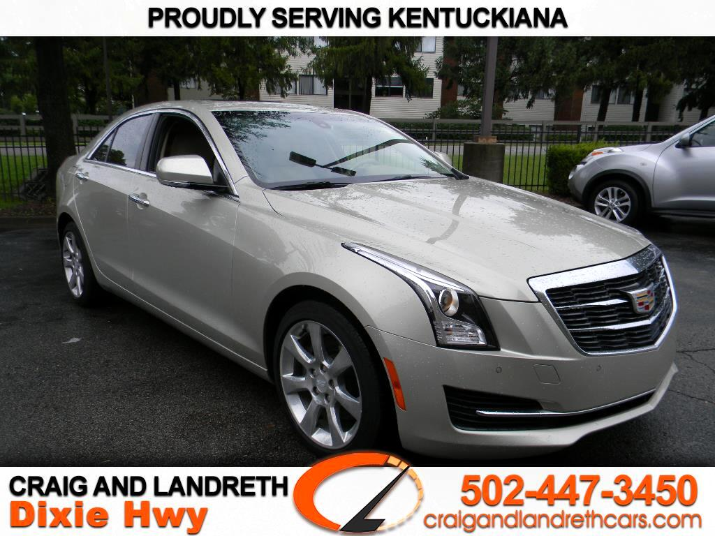 2016 Cadillac ATS Sedan 4dr Sdn 2.0L Luxury Collection AWD
