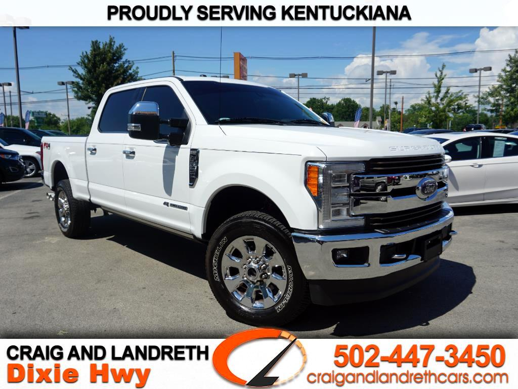 2017 ford f 250 super duty king ranch crew cab 4wd