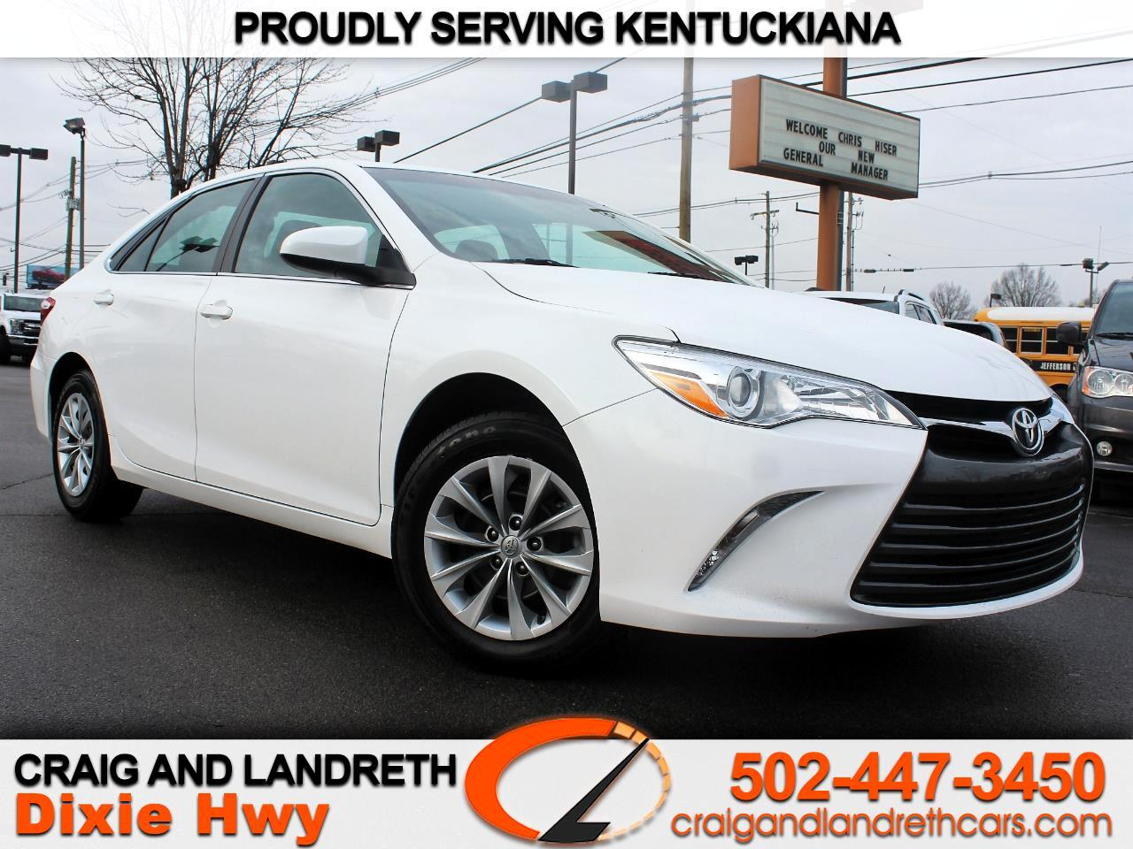 2016 Toyota Camry 2014.5 4dr Sdn I4 Auto L (Natl)