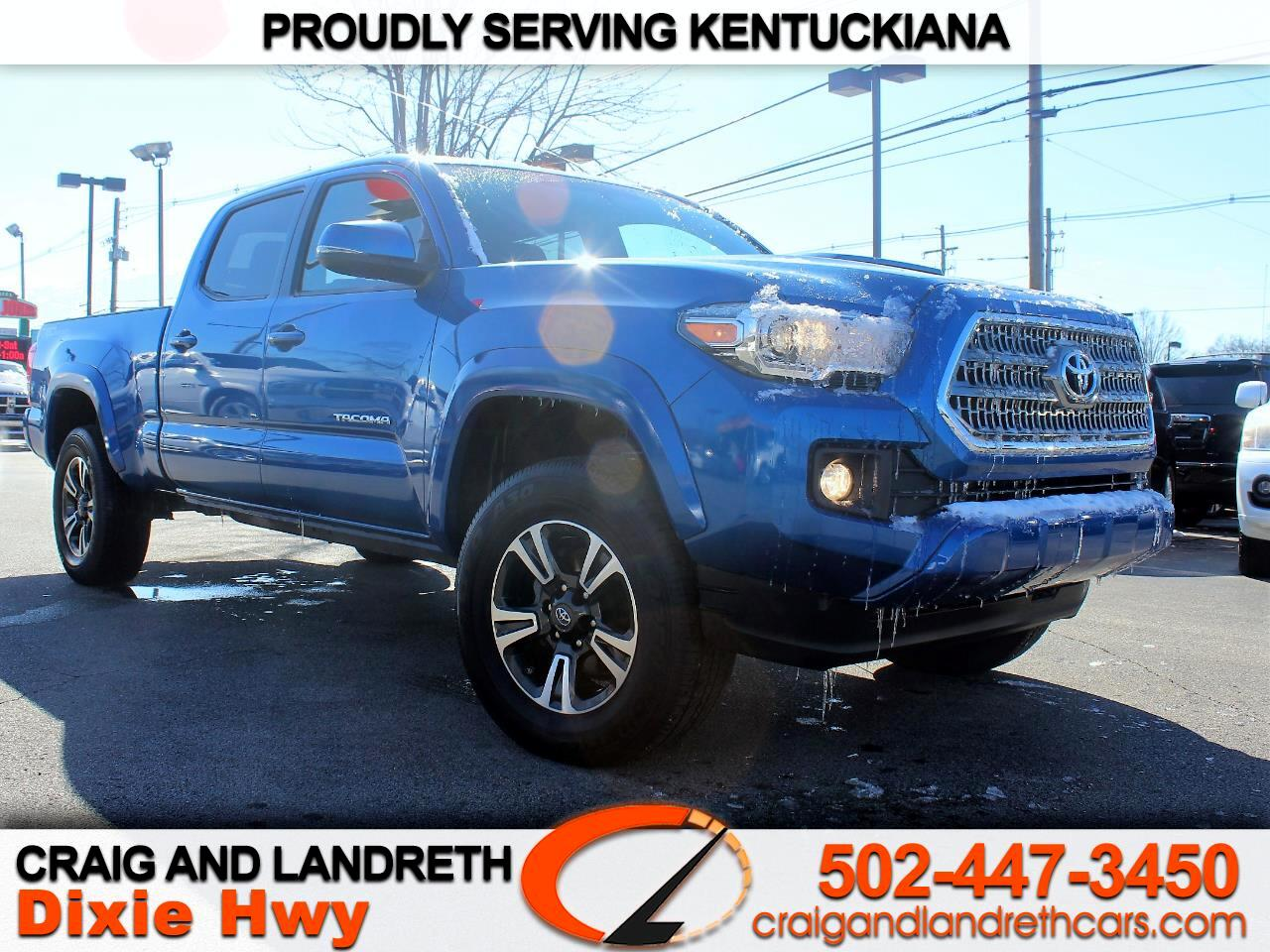 2017 Toyota Tacoma SR5 Double Cab Super Long Bed V6 6AT 2WD