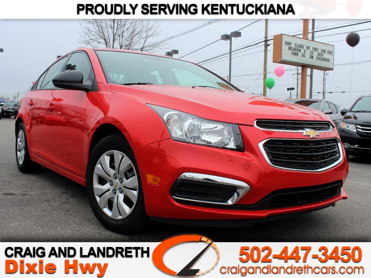 2016 Chevrolet Cruze Limited 4dr Sdn Man L