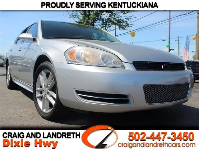 Craig And Landreth Dixie >> Used 2015 Chevrolet Impala Limited Lt For Sale In Louisville Ky