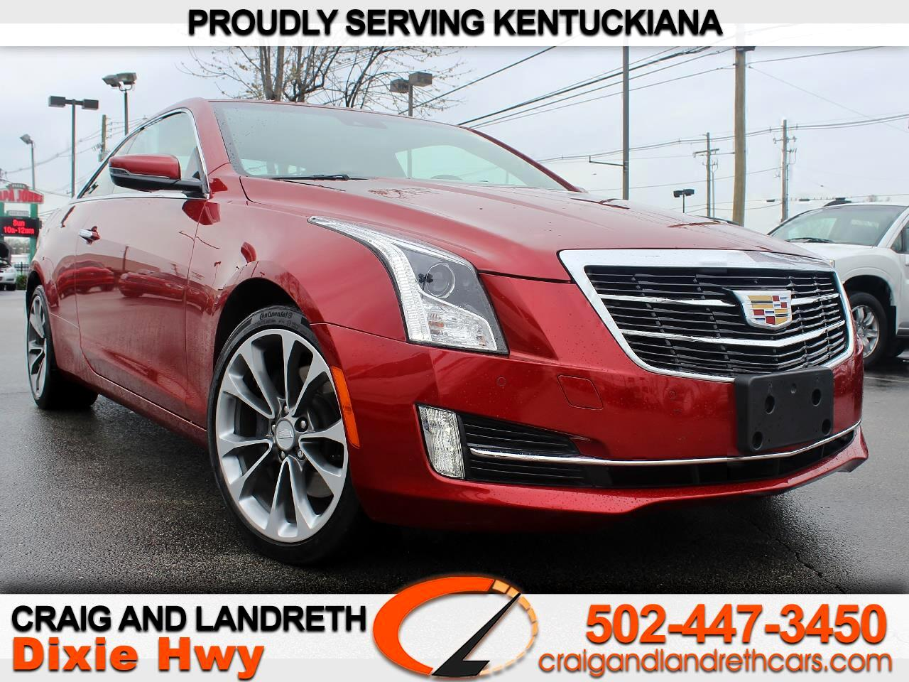 2016 Cadillac ATS Coupe 2.0L Luxury AWD
