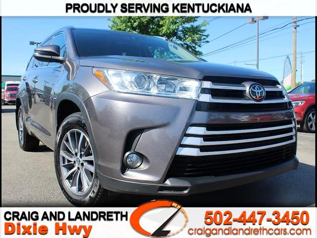 Craig And Landreth Cars >> Used 2017 Toyota Highlander Xle Awd V6 For Sale In Louisville Ky