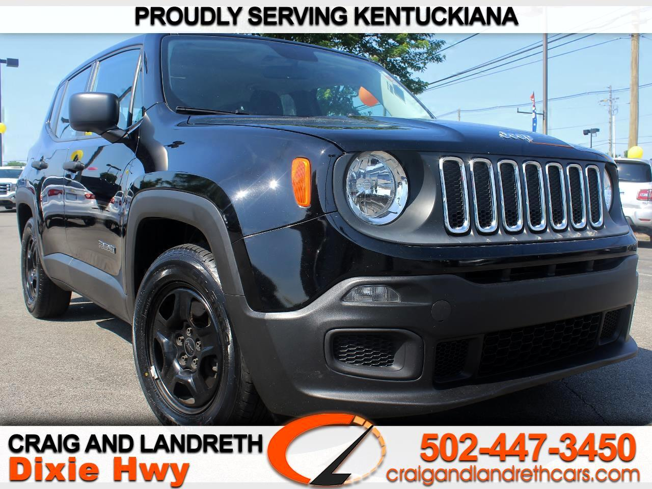 2015 Jeep Renegade FWD 4dr Sport