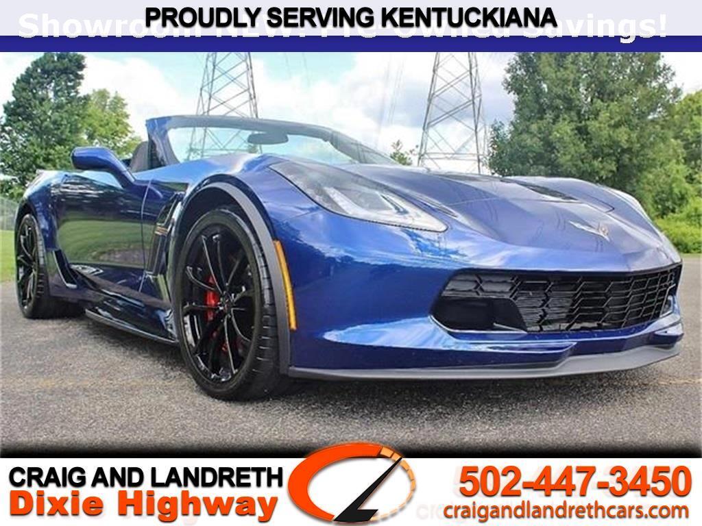 2017 Chevrolet Corvette Grand Sport w/1LT Convertbile