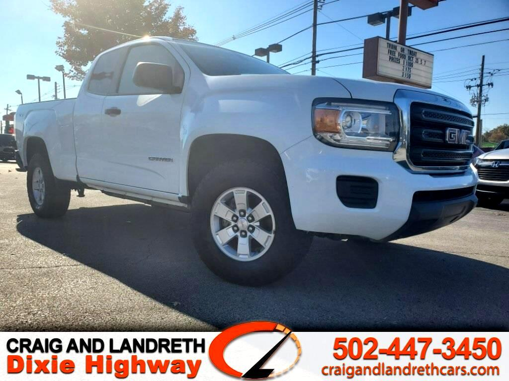 GMC Canyon Work Truck Ext. Cab 4WD 2016