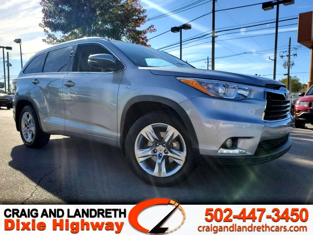 Toyota Highlander Limited AWD V6 2015