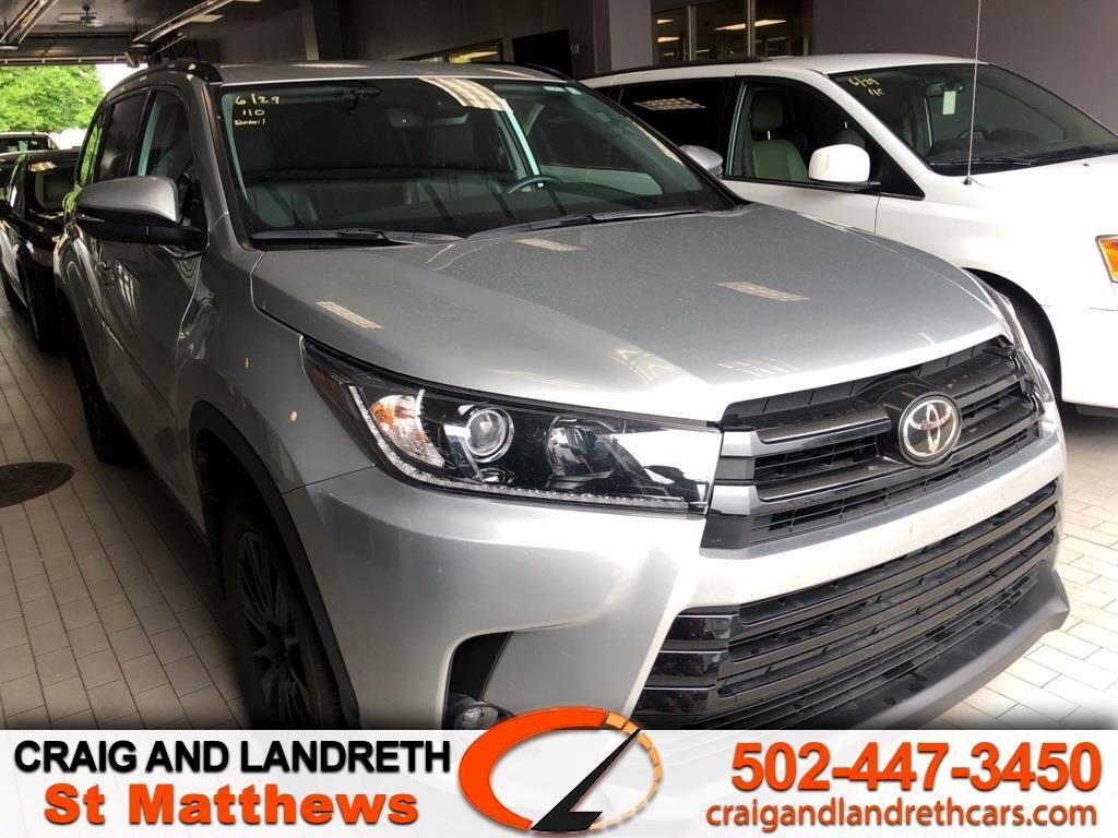 Toyota Highlander SE AWD V6 2019
