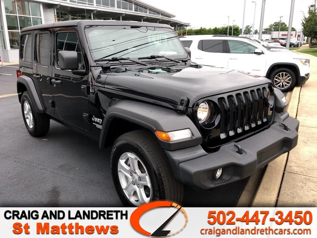 Jeep Wrangler Unlimited Sport 4D SUV 4WD 2019