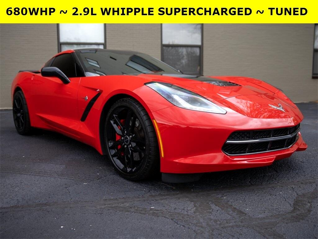 Chevrolet Corvette Z51 2D Coupe 2015