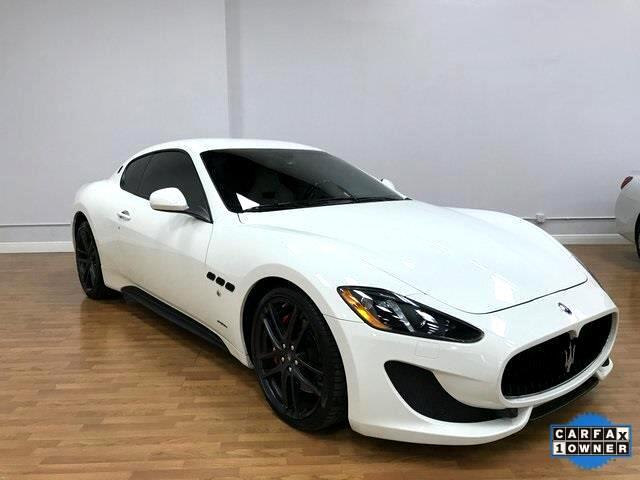 2015 Maserati GranTurismo Sport Coupe