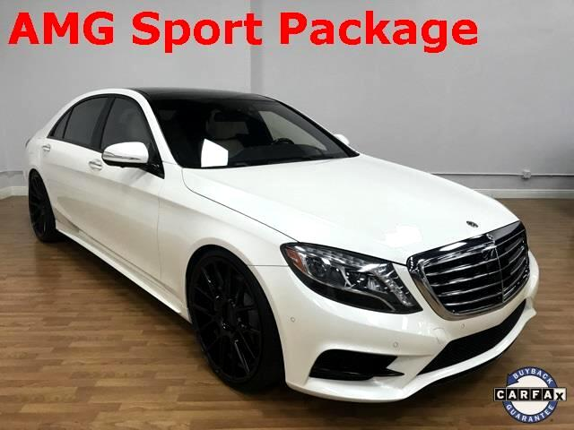 2014 Mercedes-Benz S-Class S550 AMG Sport Sedan