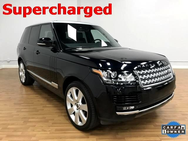 2013 Land Rover Range Rover 5.0L V8 Supercharged