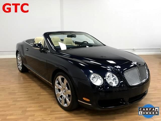 2008 Bentley Continental GTC Convertible