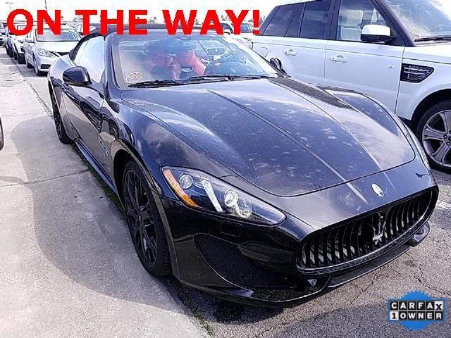 2015 Maserati GranTurismo Sport Convertible