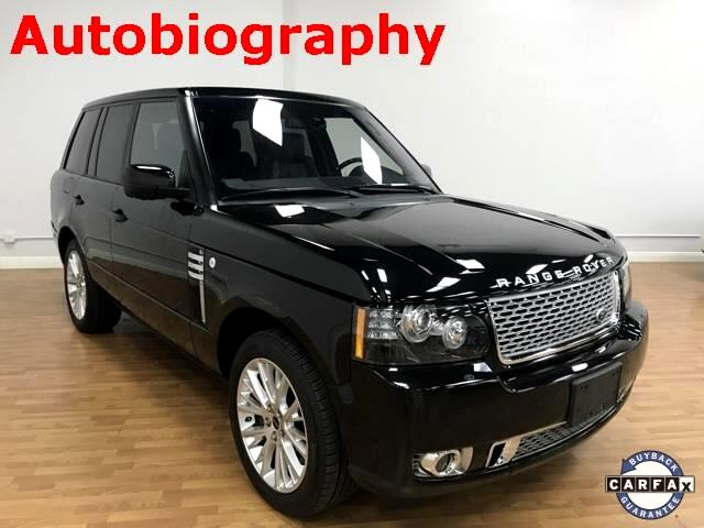 2012 Land Rover Range Rover Autobiography