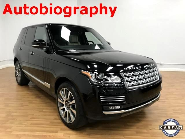 Land Rover Range Rover Supercharged Plus Autobiography Pkg 2014