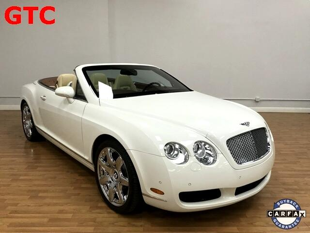 Bentley Continental GTC Convertible 2008