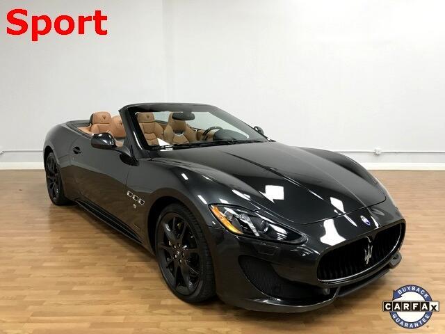 Maserati GranTurismo Convertible 2dr Conv GranTurismo Sport 2014
