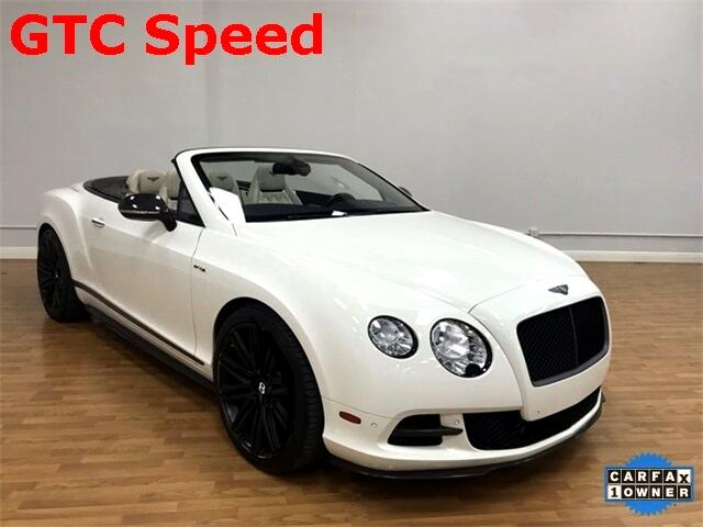 Bentley Continental GT Speed 2dr Conv 2014