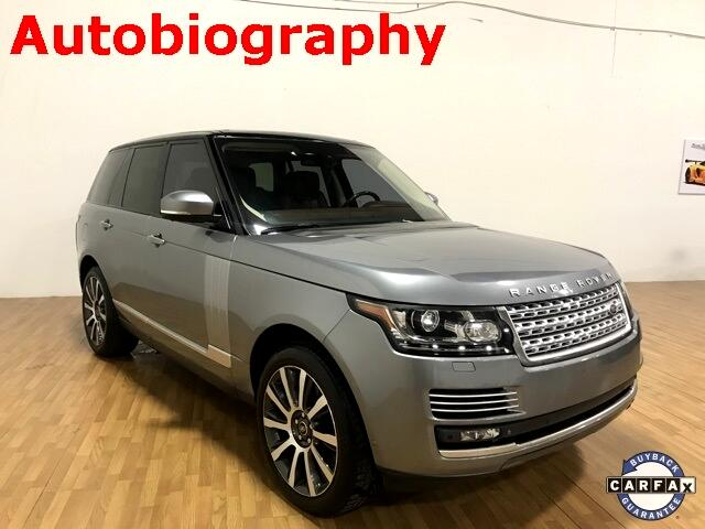 Land Rover Range Rover 4WD 4dr SC Autobiography 2013