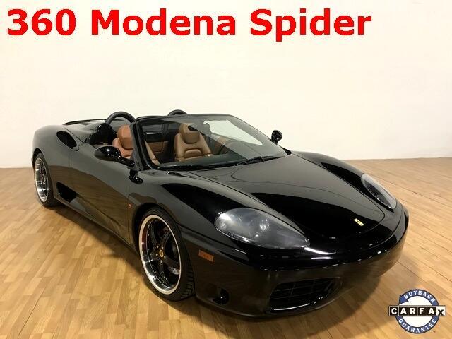 Ferrari 360 2dr Convertible Spider 2002