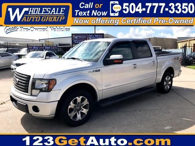 used 2012 ford f 150 fx2 for sale in kenner la 70062 wholesale auto group. Black Bedroom Furniture Sets. Home Design Ideas