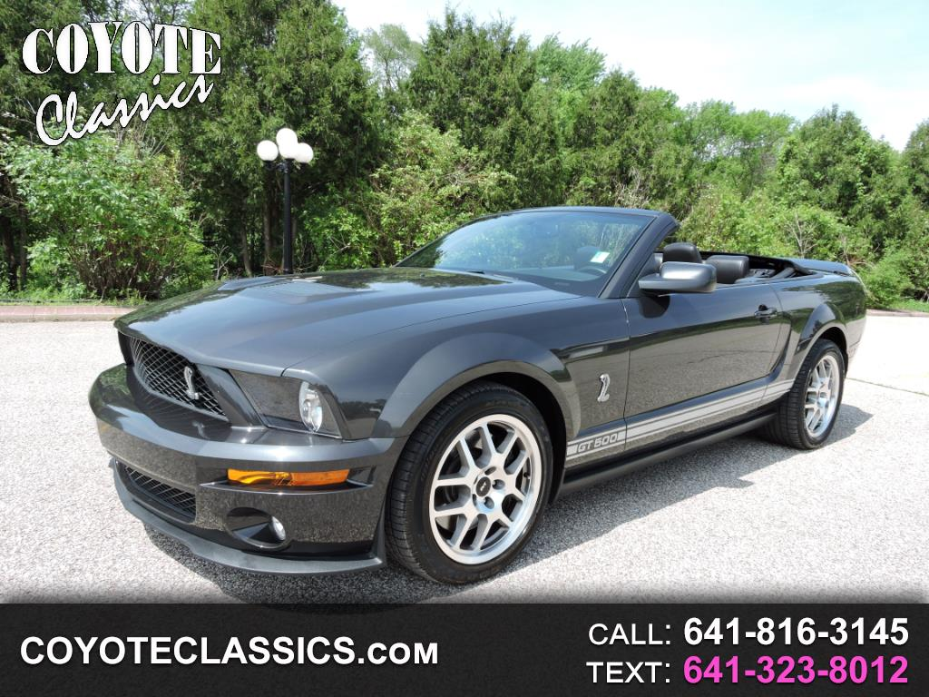 2008 Ford Shelby GT500 Convertible