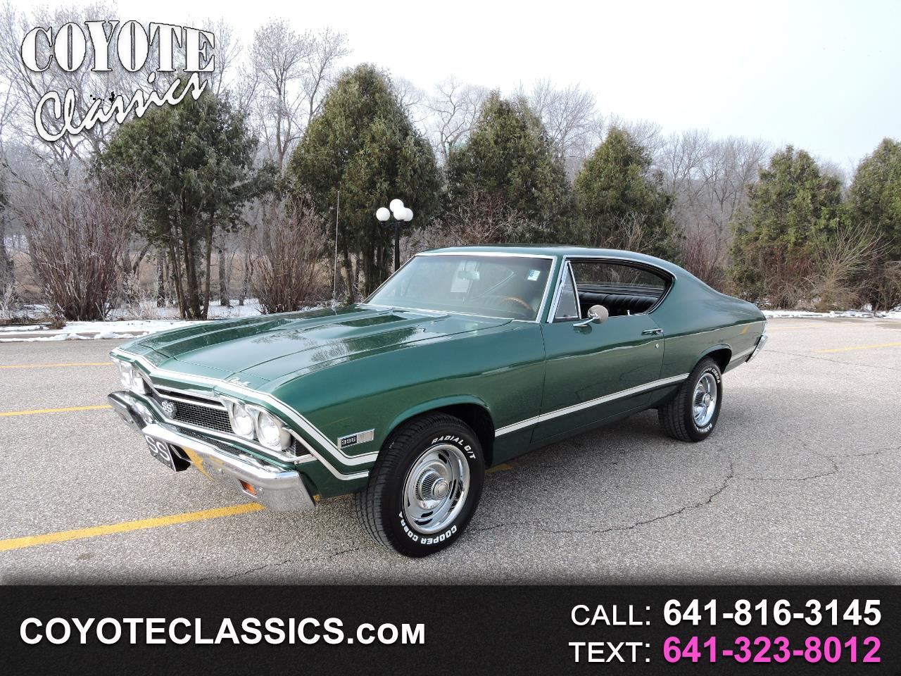 Used Cars For Sale Greene Ia 50636 Coyote Classics 1968 Chevrolet Chevelle Ss