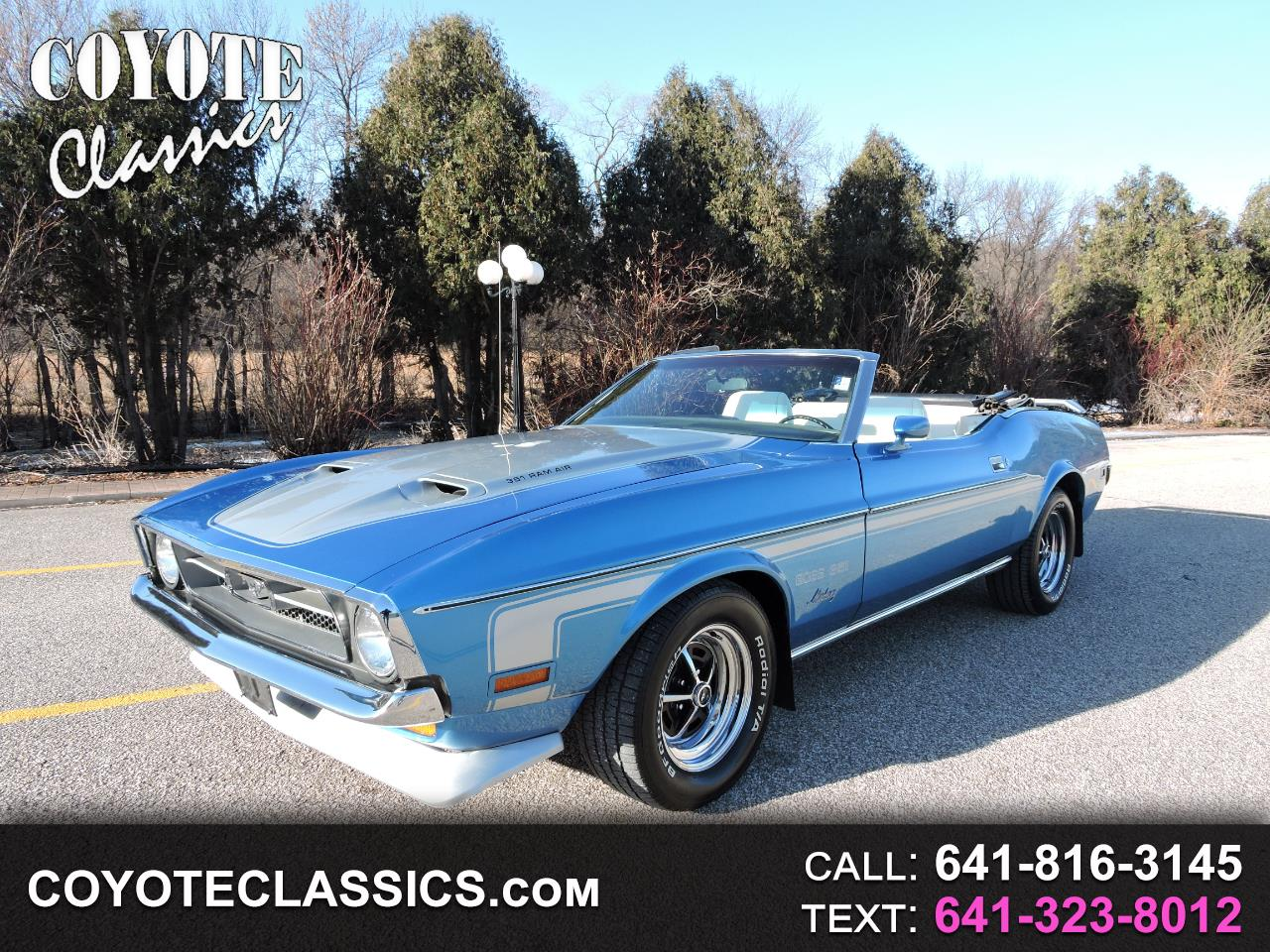 1971 Ford Mustang 2dr Convertible