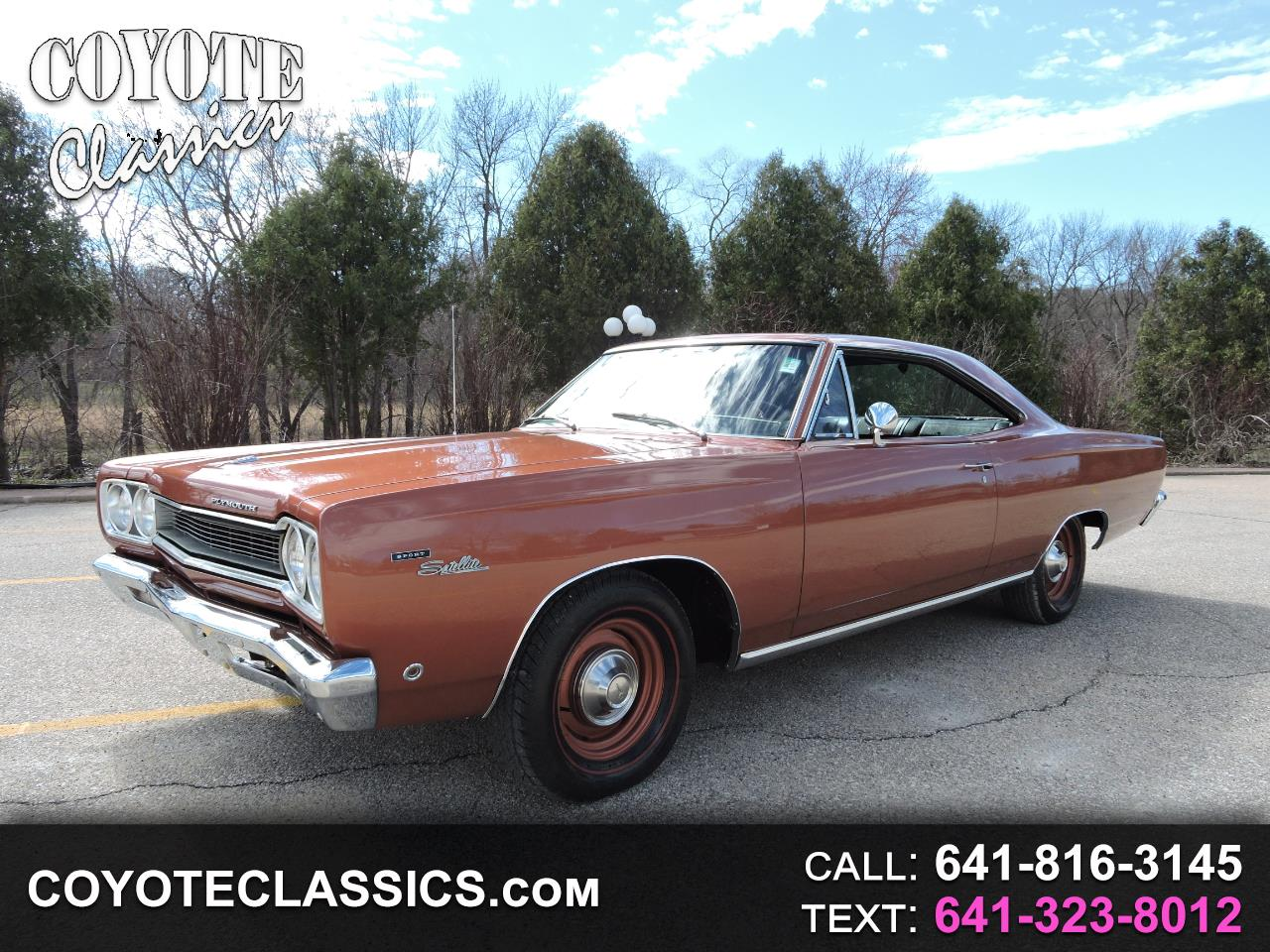 1968 Plymouth Satellite Sport Satellite