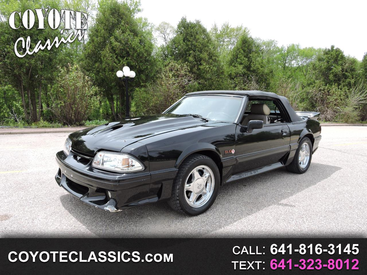 1988 Ford Mustang 2dr Conv GT