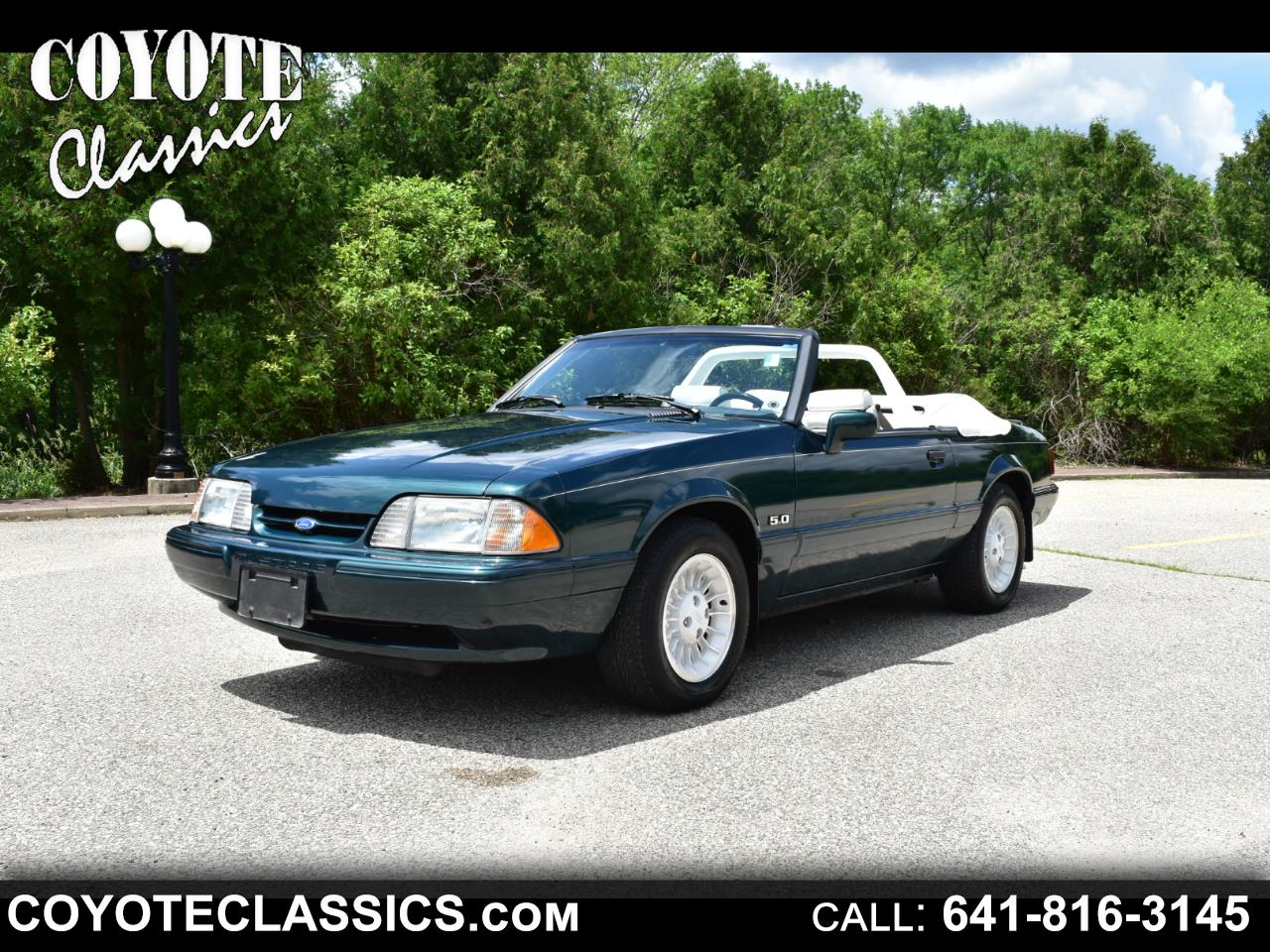 1990 Ford Mustang 2dr Convertible LX Auto
