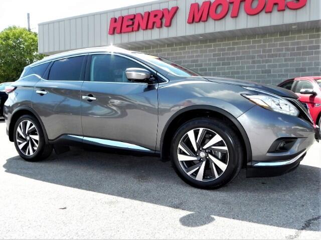 2015 Nissan Murano Platinum AWD