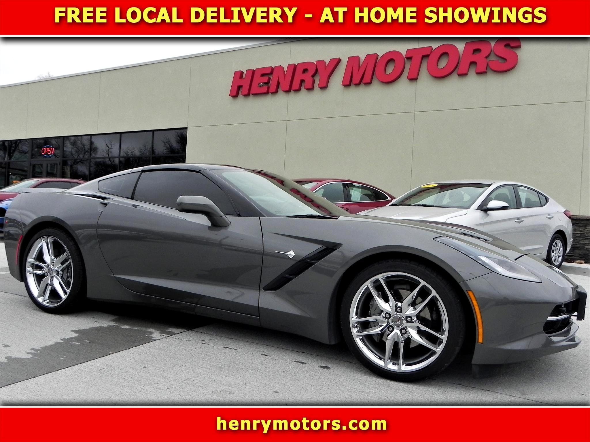 Chevrolet Corvette Z51 2LT Coupe Automatic 2016