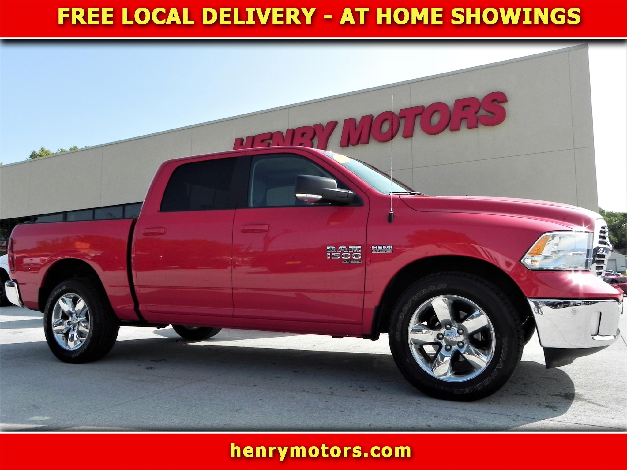"RAM 1500 Big Horn 4x4 Crew Cab 5'7"" Box 2019"