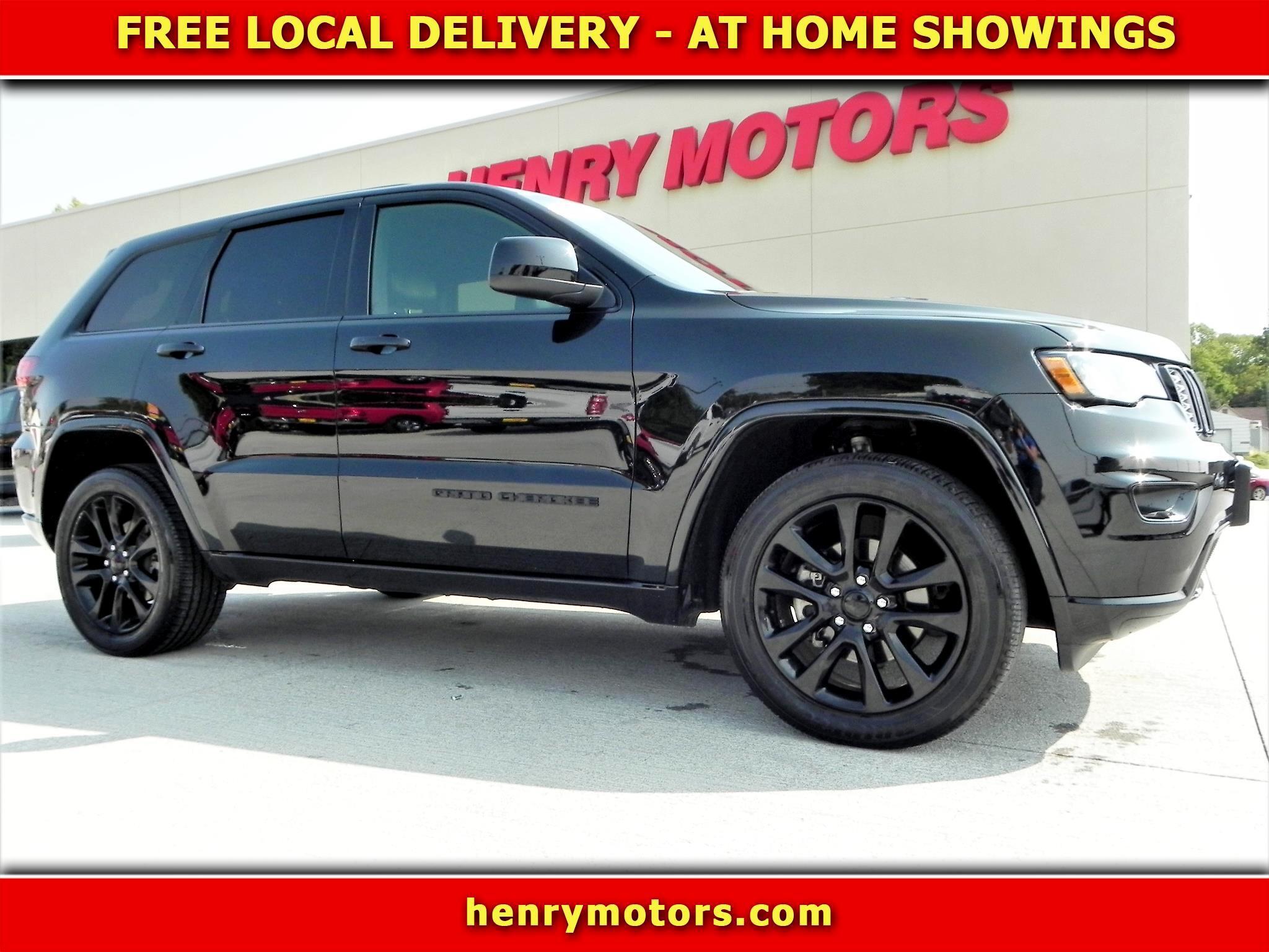 Jeep Grand Cherokee Altitude 4x4 2018