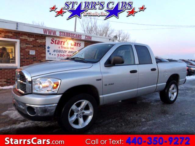 2008 Dodge Ram 1500 Quad Cab Short Bed 4WD