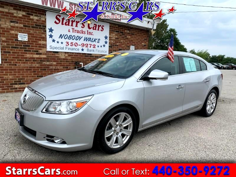 Buick LaCrosse Premium Package 2, w/Leather 2012