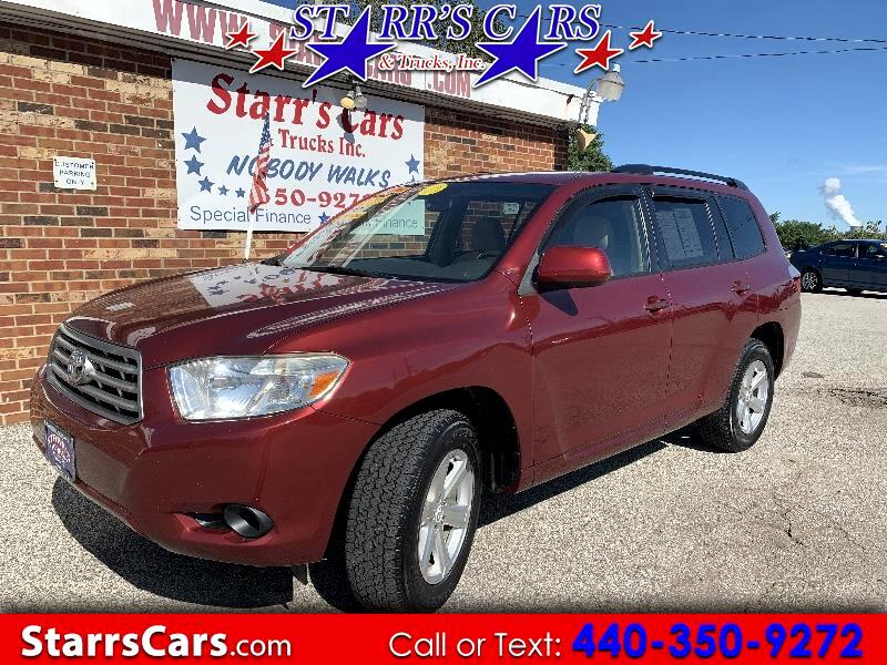 2009 Toyota Highlander Base 4WD