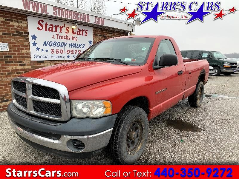 Dodge Ram 1500 ST Regular Cab 4WD 2003