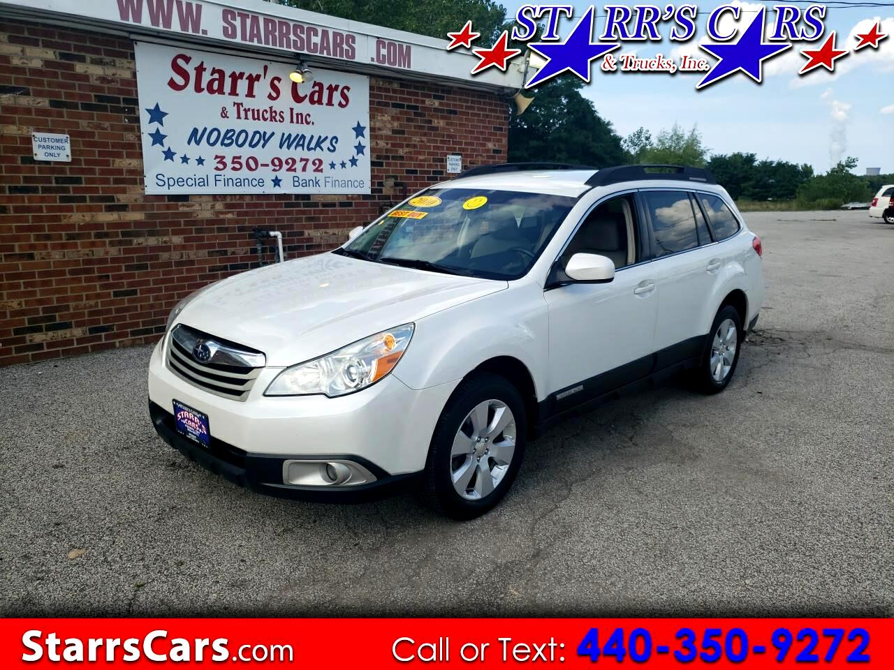 Subaru Outback 4dr Wgn H4 Auto 2.5i Premium All-Weather 2010