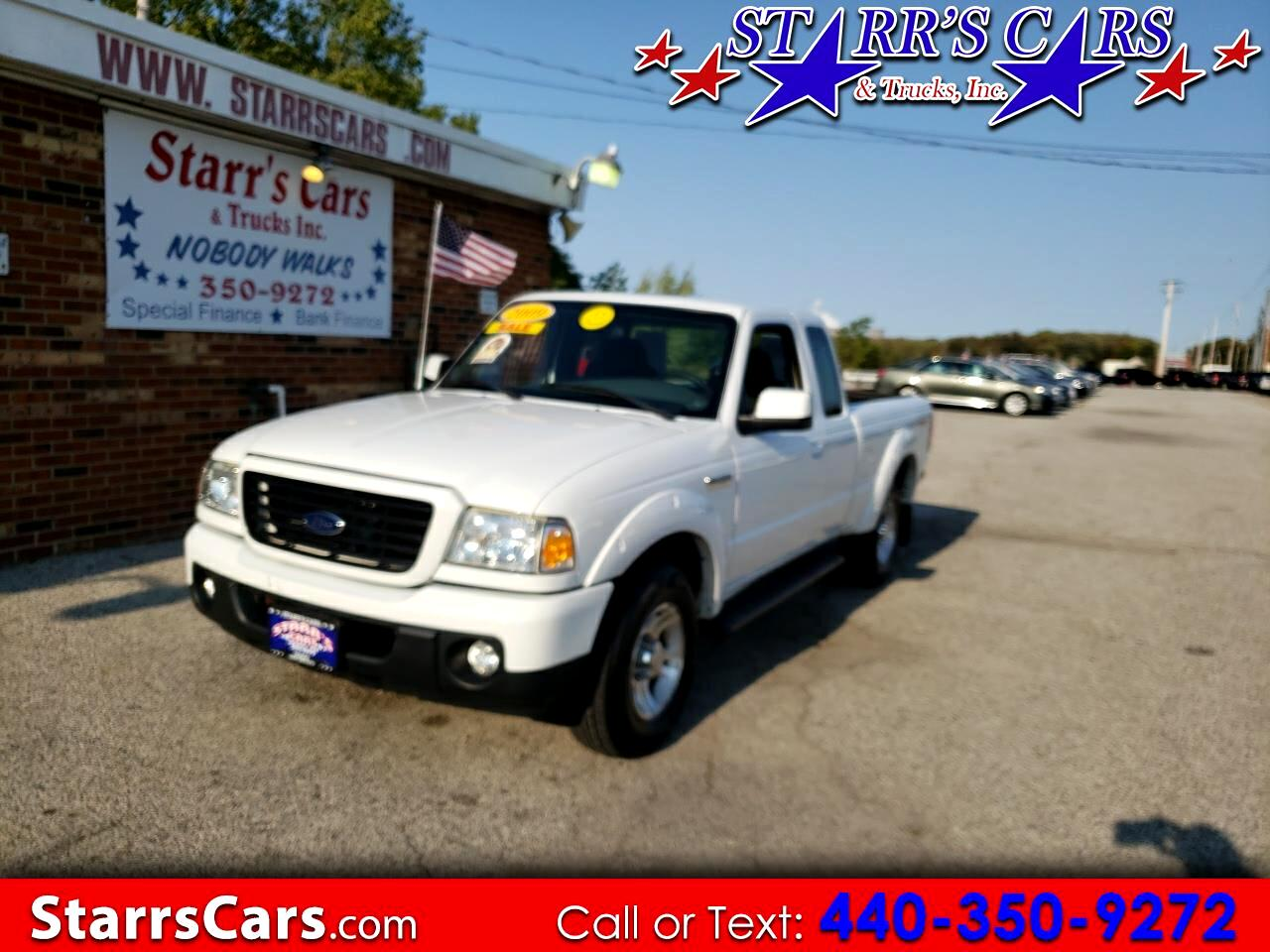 "Ford Ranger 2WD 4dr SuperCab 126"" Sport 2009"