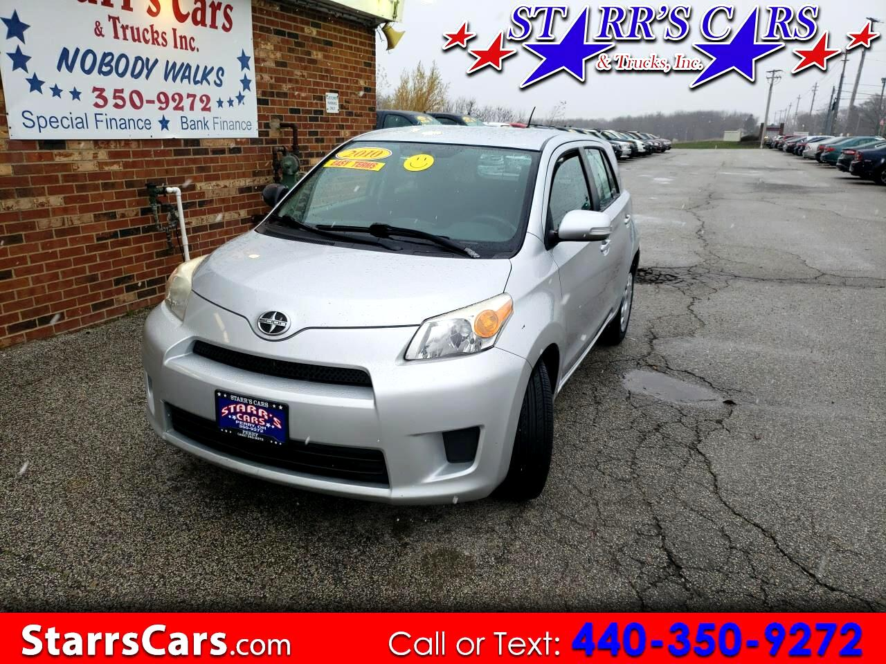 Scion xD 5-Door Hatchback 4-Spd AT 2010