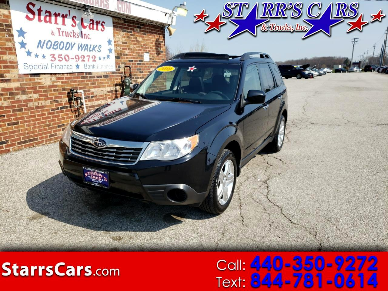 Subaru Forester 4dr Auto 2.5X Premium w/All-Weather Pkg 2010