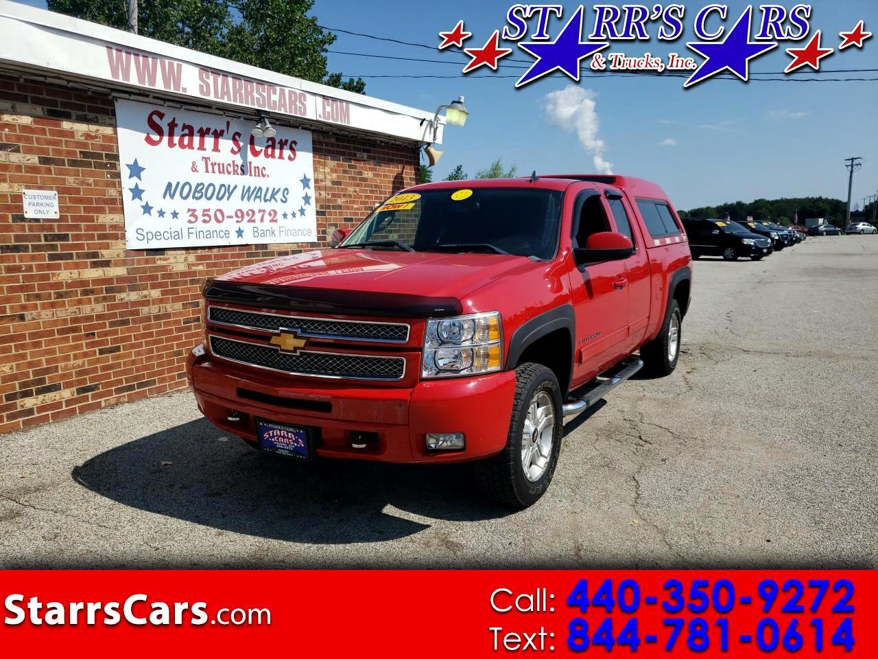 """Chevrolet Silverado 1500 4WD Ext Cab 143.5"""" LT 2013"""
