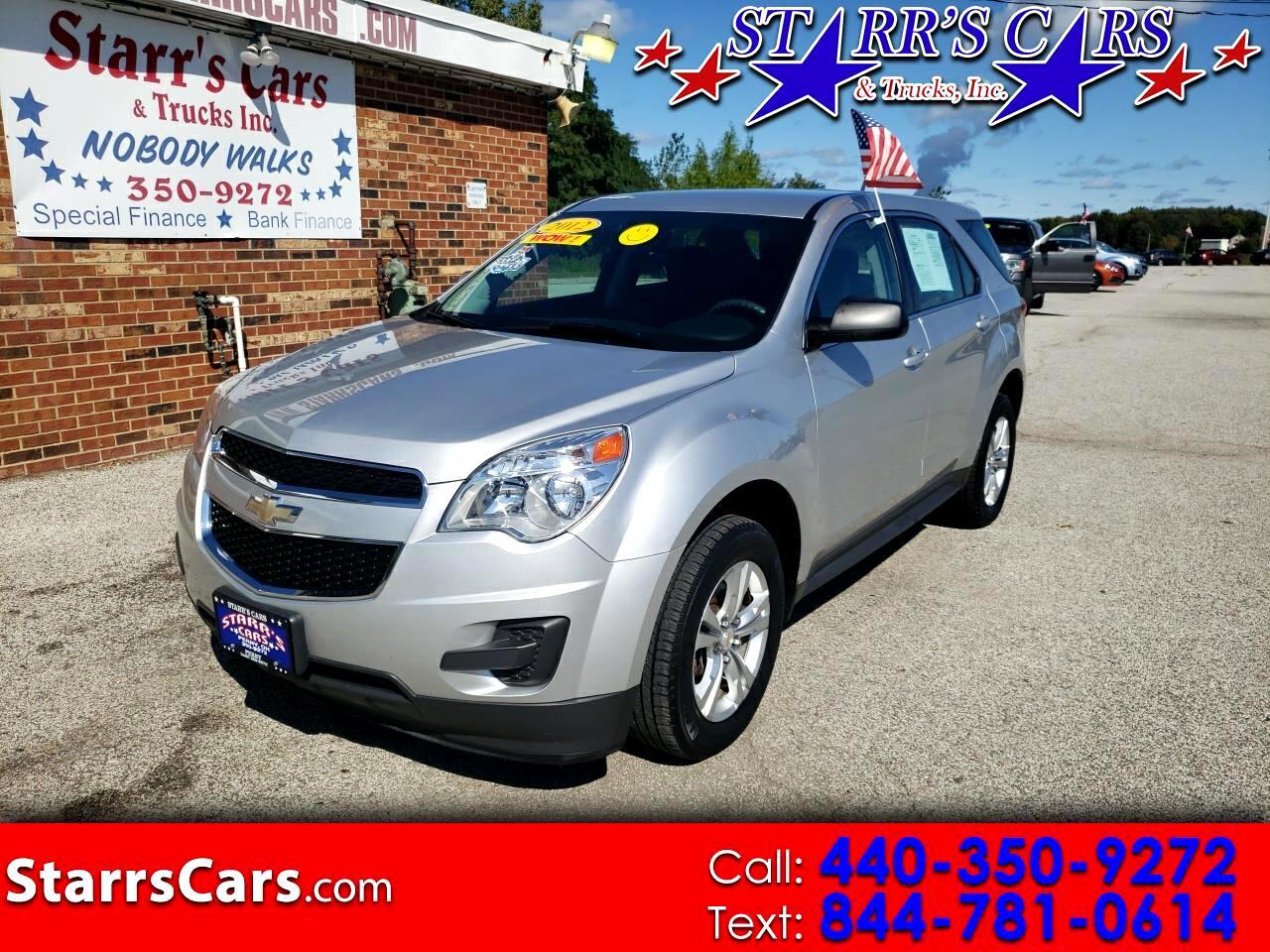 Chevrolet Equinox FWD 4dr LS 2012