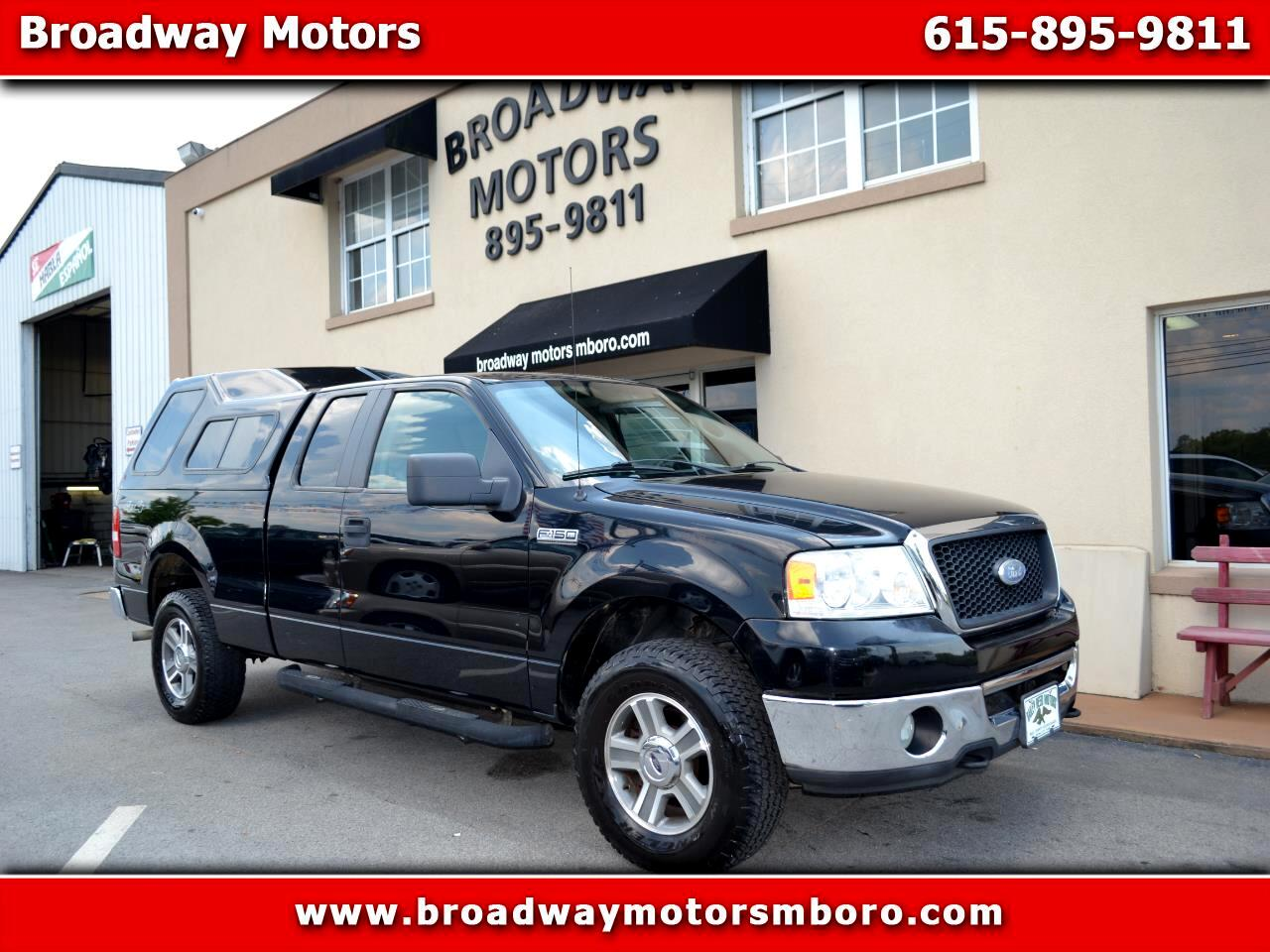 "2007 Ford F-150 4WD SuperCab 145"" XL"
